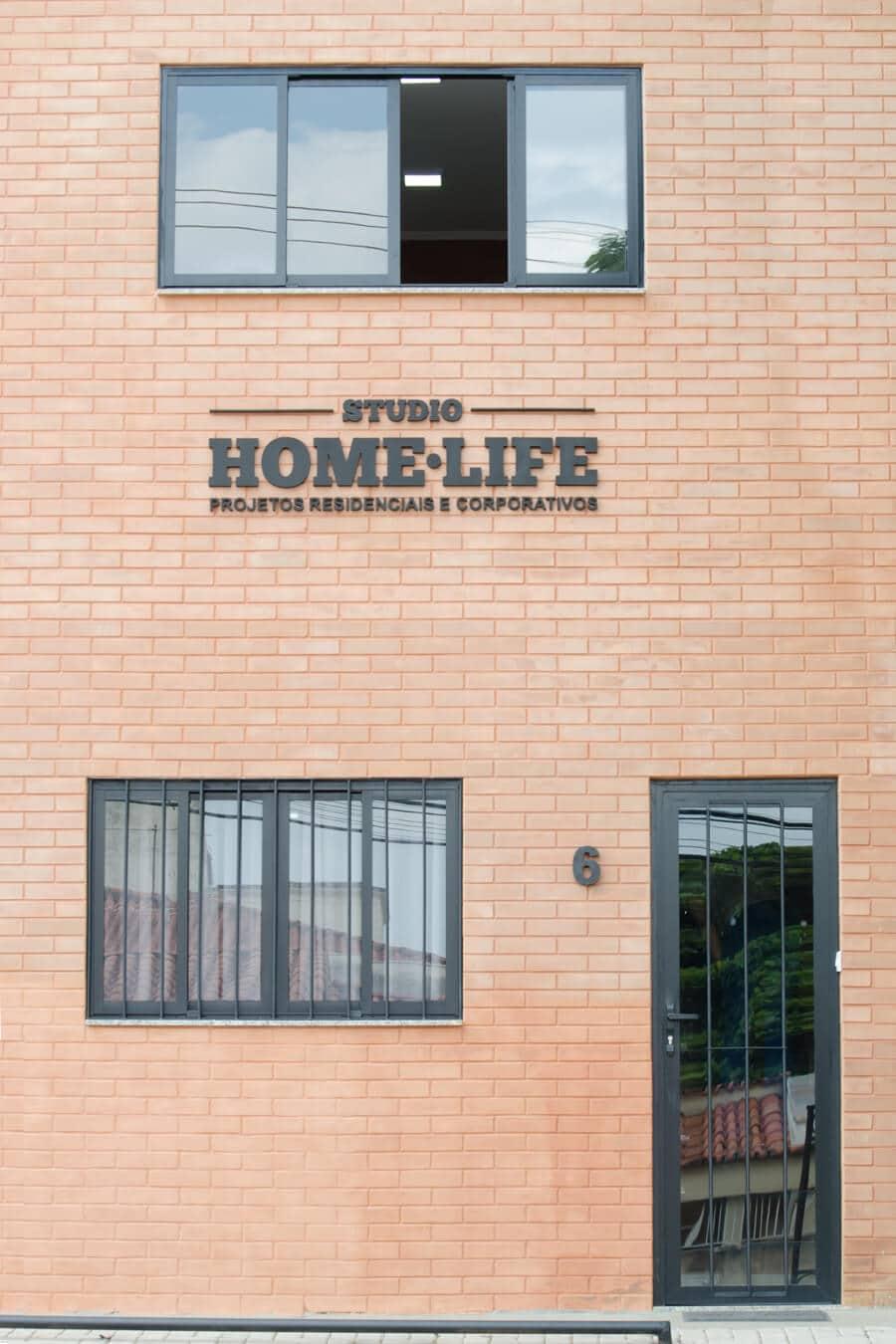 Home Life - Letreiro de Rua