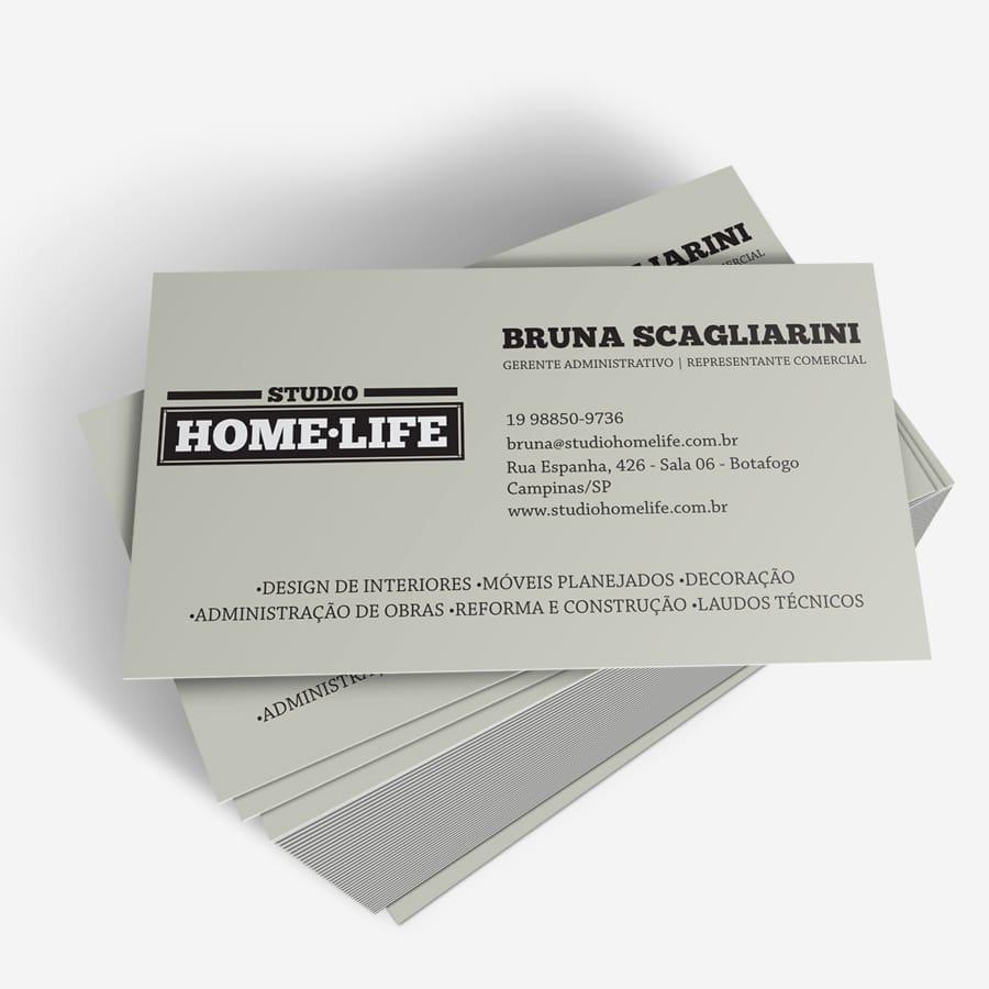 Home Life - Cartão de visita