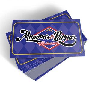 Cartão Mammas & Pappas